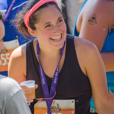 All smiles and beer at the New Haven Craft Brew Race
